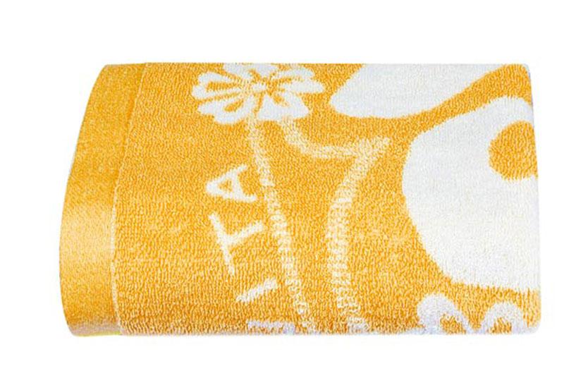 Полотенце Soavita Цветы, цвет: оранжевый, белый, 68 х 135 смKOC_SOL249_G4Банное полотенце Soavita Цветы выполнено из 100% хлопка с мягким ворсом и оформлено цветочным принтом. Изделие отлично впитывает влагу, быстро сохнет, сохраняет яркость цвета и не теряет форму даже после многократных стирок. Полотенце очень практично и неприхотливо в уходе. Оно создаст прекрасное настроение и украсит интерьер в ванной комнате.Перед использованием постирать при температуре не выше +40°С.