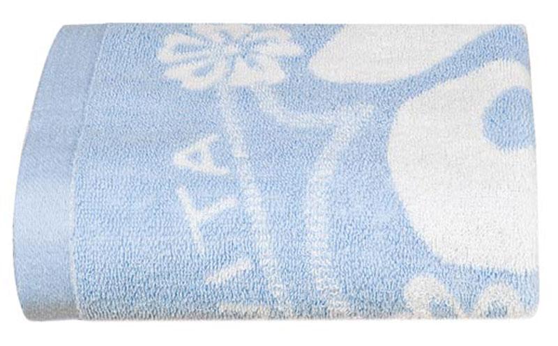 Полотенце Soavita Цветы, цвет: голубой, белый, 68 х 135 см87504Банное полотенце Soavita Цветы выполнено из 100% хлопка с мягким ворсом и оформлено цветочным принтом. Изделие отлично впитывает влагу, быстро сохнет, сохраняет яркость цвета и не теряет форму даже после многократных стирок. Полотенце очень практично и неприхотливо в уходе. Оно создаст прекрасное настроение и украсит интерьер в ванной комнате. Перед использованием постирать при температуре не выше +40°С.