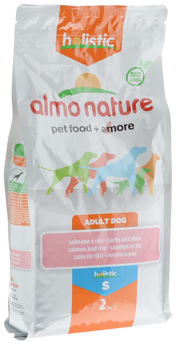 Корм сухой Almo Nature для взрослых собак, с лососем и рисом, 2 кг10144Корм сухой Almo Nature представляет собой полноценное питание для взрослых собак. Высокое содержание свежего лосося делает этот продукт более привлекательными для собак и повышает усвояемость. Товар сертифицирован.