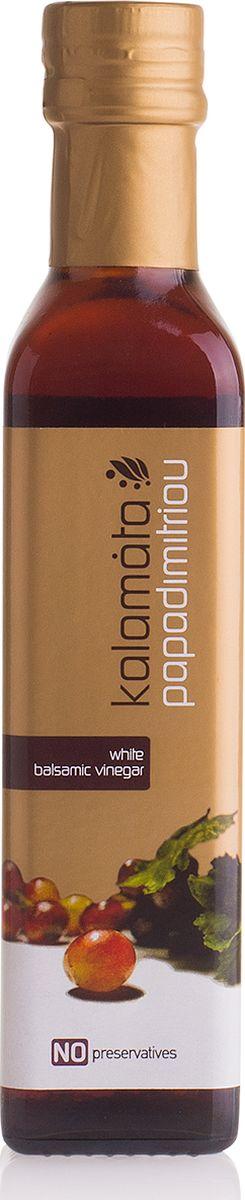 Papadimitriou белый бальзамический уксус Каламата, 250 мл12.0003Кремообразный, ароматный, кисло-сладкий на вкус.