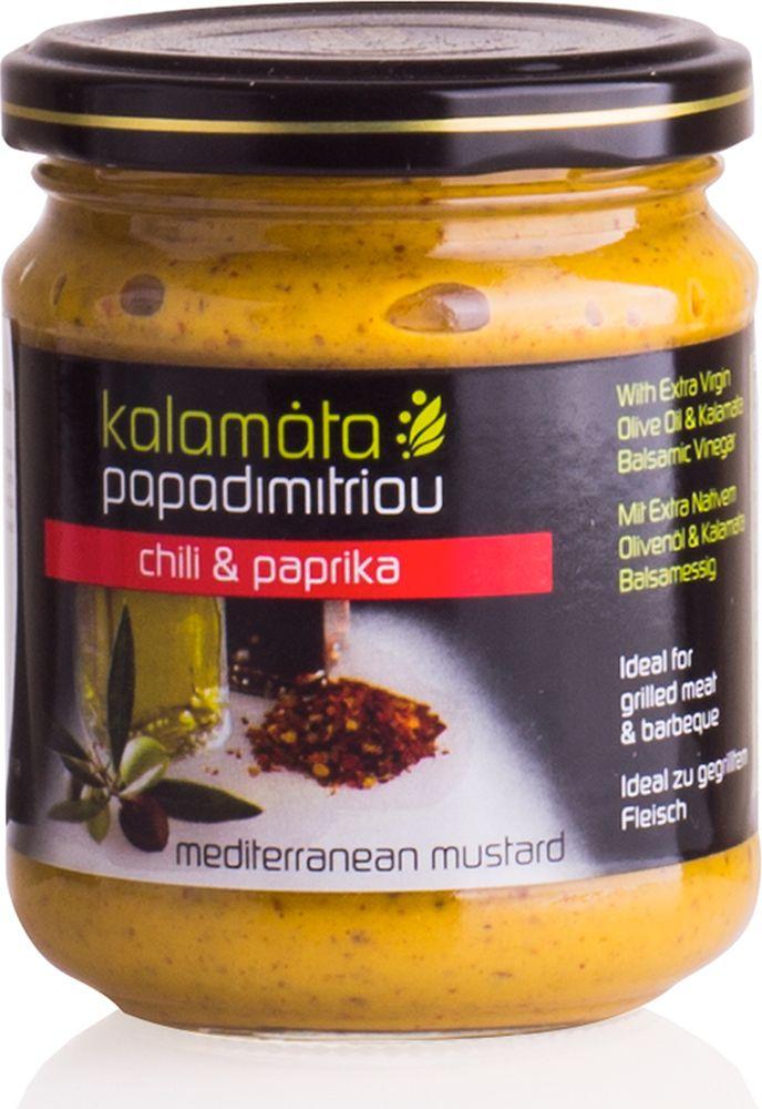 Papadimitriou горчица с оливковым маслом и бальзамическим уксусом, 200 г12.0010Мягкая горчица с оливковым маслом в удобной упаковке. Kalamata Papadimitriou является ведущим брендом соусов и уксусов в Греции и экспортируется в разные страны по всему миру.