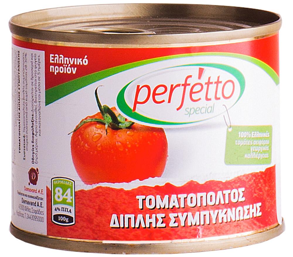 Perfetto specia Паста томатная, 200 г41.0008,1Произведено в Греции из отборных греческих томатов. Без консервантов.