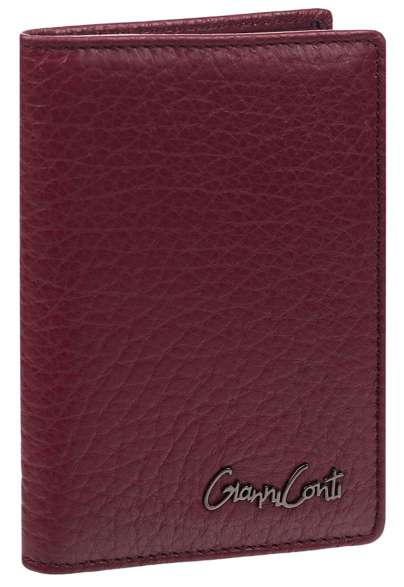 Обложка для автодокументов женская Gianni Conti, цвет: темно-красный. 15474631547463Женская обложка для автодокументов Gianni Conti выполнена из натуральной кожи фактурного тиснения. Обложка раскладывается пополам. Внутри обложки расположены два потайных кармана, один из которых сетчатый, пять карманов для пластиковых карт, одиннадцать прозрачных файлов для документов. Вместительная обложка для автодокументов подчеркнет вашу индивидуальность, а также станет замечательным подарком для автолюбителей прекрасного пола. Обложка поставляется в фирменной картонной коробке.