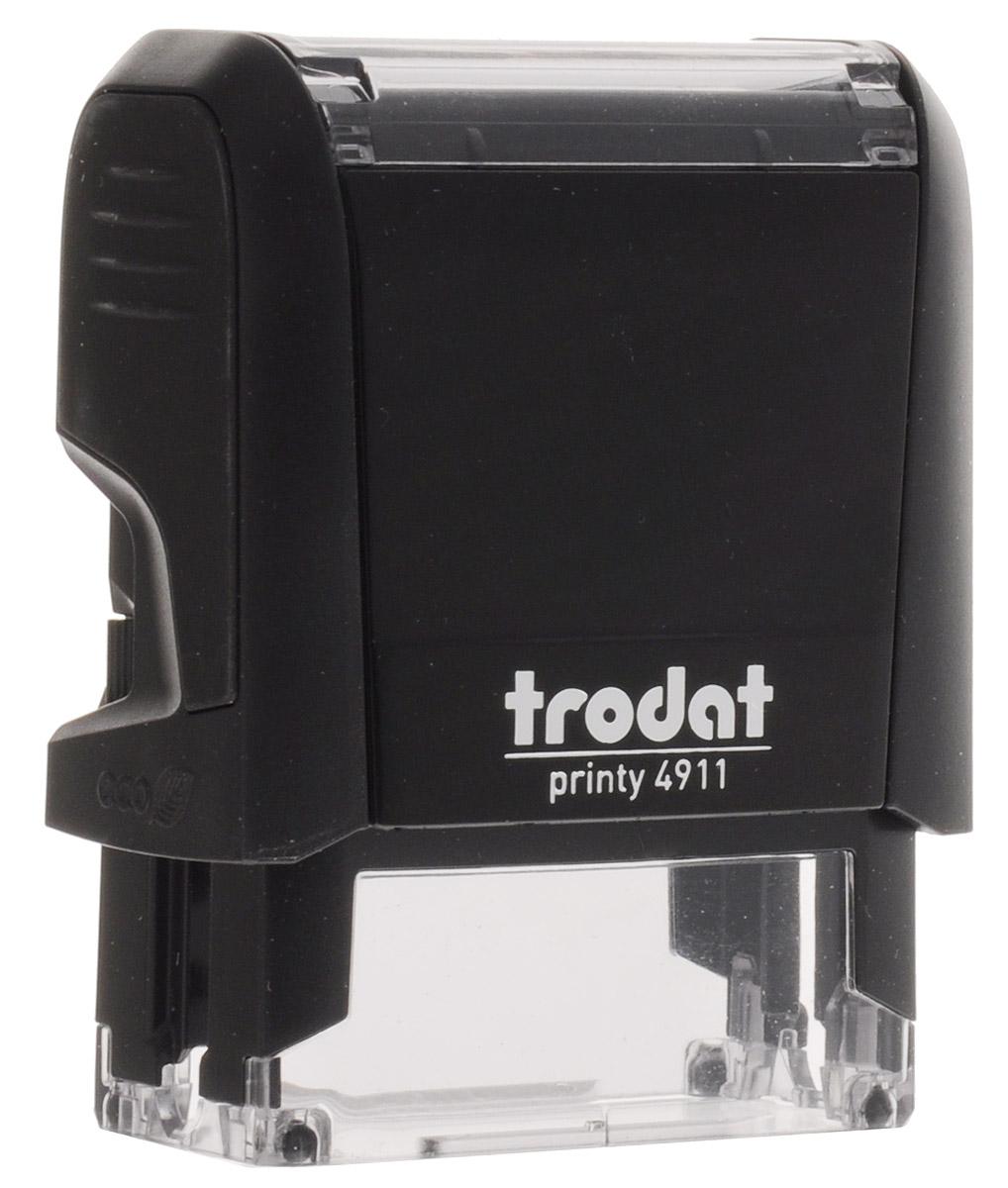 Trodat Оснастка для штампа 38 мм х 14 ммBN-612_синийОснастка для штампа Trodat будет незаменима в отделе кадров или в бухгалтерии любой компании. Прочный пластиковый корпус с автоматическим окрашиванием гарантирует долговечное бесперебойное использование. Модель отличается высочайшим удобством в использовании и оптимально ложится в руку.Оттиск проставляется практически бесшумно, легким нажатием руки. Улучшенная конструкция и видимая площадь печати гарантируют качество и точность оттиска. Текстовые пластины прямоугольной формы 38 мм х 14 мм подойдут для изготовления клише по индивидуальному заказу. Модель оснащена кнопкой блокировки.Оснастка для штампа Trodat идеальна для ежедневного использования в офисе.