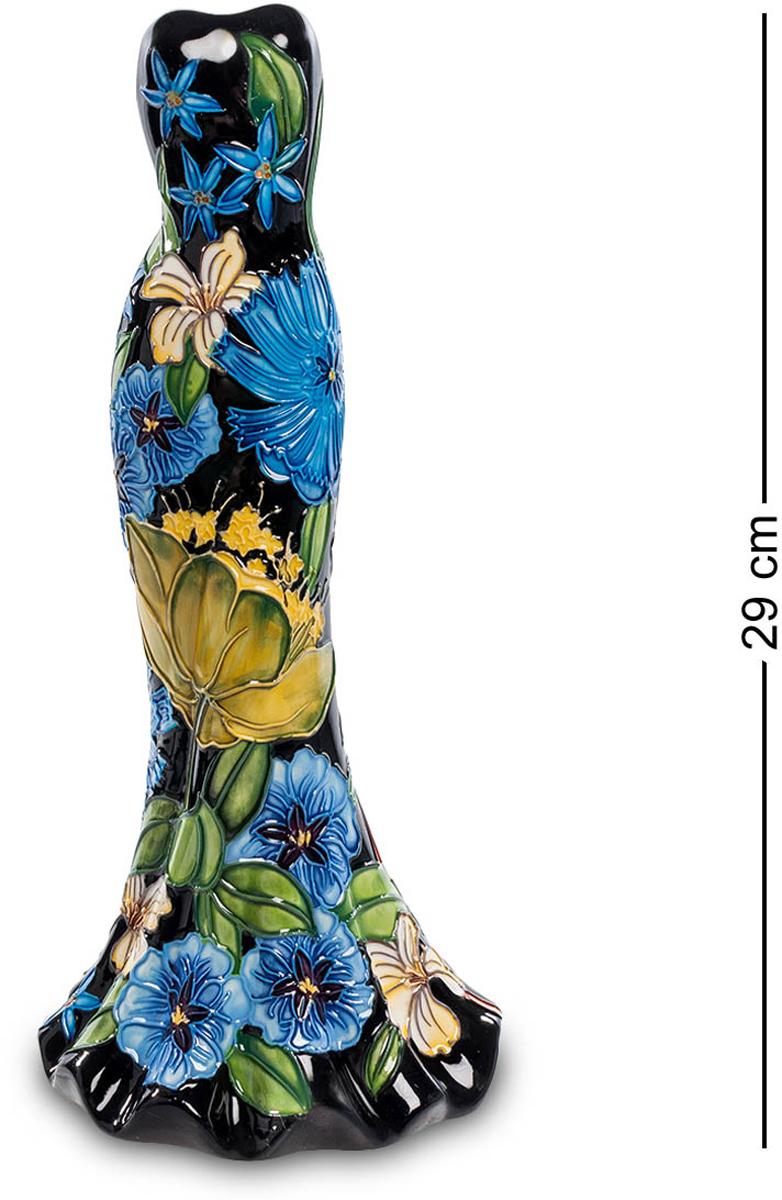 Ваза Pavone Платье. JP-670/ 8JP-670/ 8Ваза высотой 29 см.