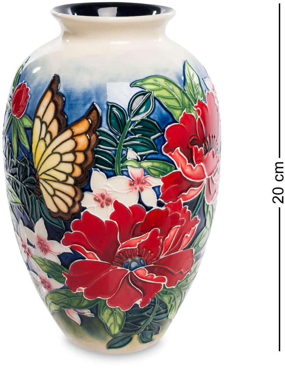 Ваза Pavone. JP-852/ 2JP-852/ 2Ваза высотой 20 см. Потрясающая красочная ваза – настоящее произведение искусства! Она мастерски расписана разнообразными яркими цветами и невероятно милой бабочкой. Такой шедевр выигрышно смотрится в любом интерьере, наполняет его атмосферой летнего солнечного дня и словно передает ароматы пышно цветущих растений. Флористический дизайн изделия обязательно придется по вкусу представительницам женского пола. Выразительная ваза вызовет восторг и восхищение с первого взгляда!