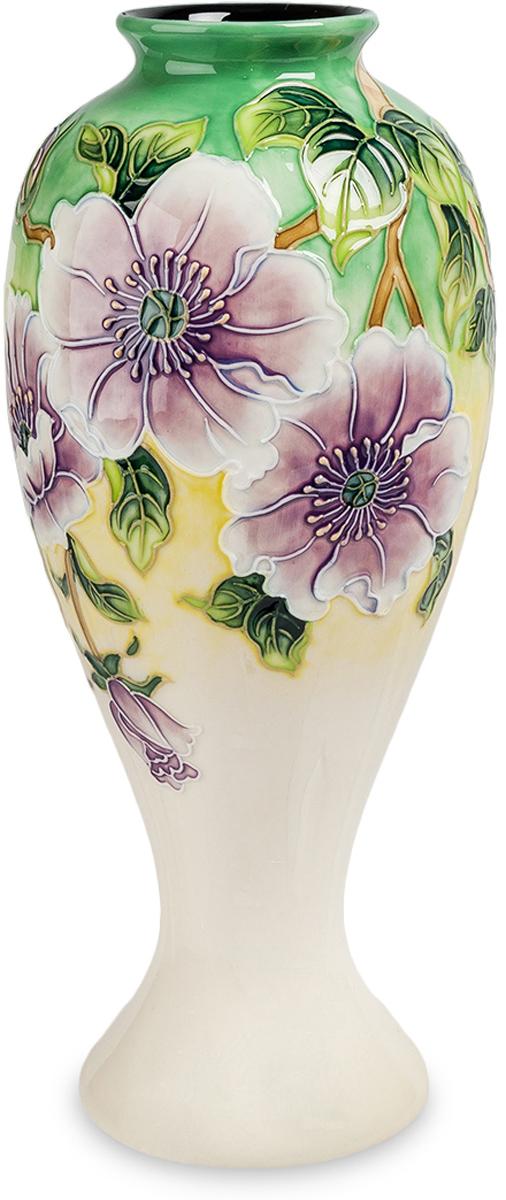 Ваза Pavone Камелия. JP-98/10JP-98/10Ваза Камелия создавалась для утонченных ценителей классического китайского фарфора. Сочетает в себе изящные формы, изогнутые линии и сложные рисунки в виде цветков. Как и во всех китайских произведениях искусства, тут преобладают яркие краски, интересный сюжет и сложная цветочная композиция. Интересный переход градиента от нежного белого цвета к салатовому. Ваза станет прекрасным подарком ко дню рождения любимого человека или родственника.