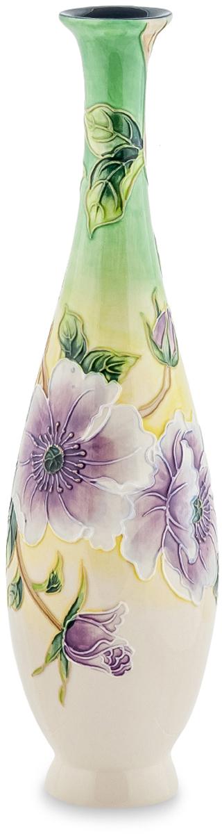Ваза Pavone Камелия. JP-98/1794672Ваза Камелия имеет несколько цветовых решений, а также несколько различных вариантов узоров, которыми она украшена. Но, какой бы вариант вы не выбрали, эта ваза будет прекрасна в любом из них. Высокая, украшенная бабочками или цветами на нежном светлом фоне, она растопит сердце любой женщины, особенно, если вместе с вазой сразу же подарить и цветы. Утонченная форма, настоящий итальянский фарфор и талант мастеров компании Pavone - вот что делает эту вазу практически идеальным подарком для представительниц прекрасной половины человечества.