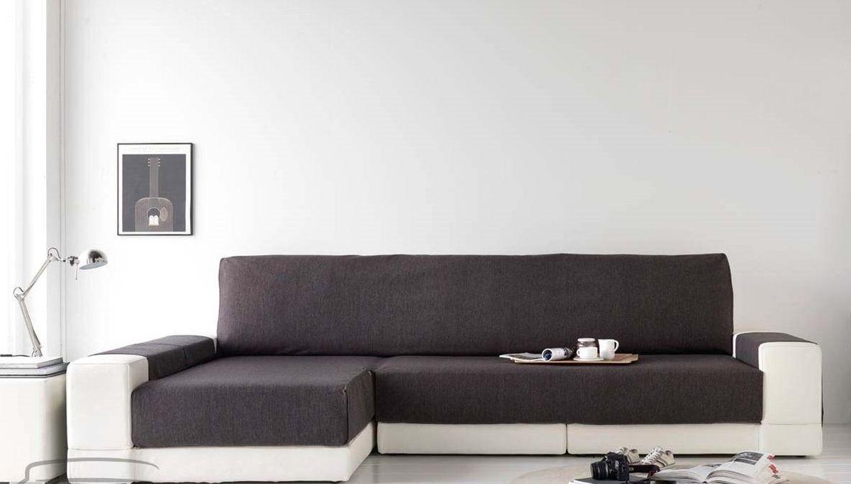 Чехол на диван Медежда Иден, угловой, левый угол, цвет: темно-серый14050212020Чехол на диван Медежда Иден - это универсальная накидка на угловой диван, которая защитит ваш диван и украсит вашу гостиную. Изделие выполнено из 60% хлопка и 40% полиэстера. Накидка оснащена практичными боковыми карманами, в которых можно хранить пульты, журналы или газеты, очень удобна и проста в установке. Специальные фиксаторы не позволяют накидке съезжать. Ширина накидки: 235 см.