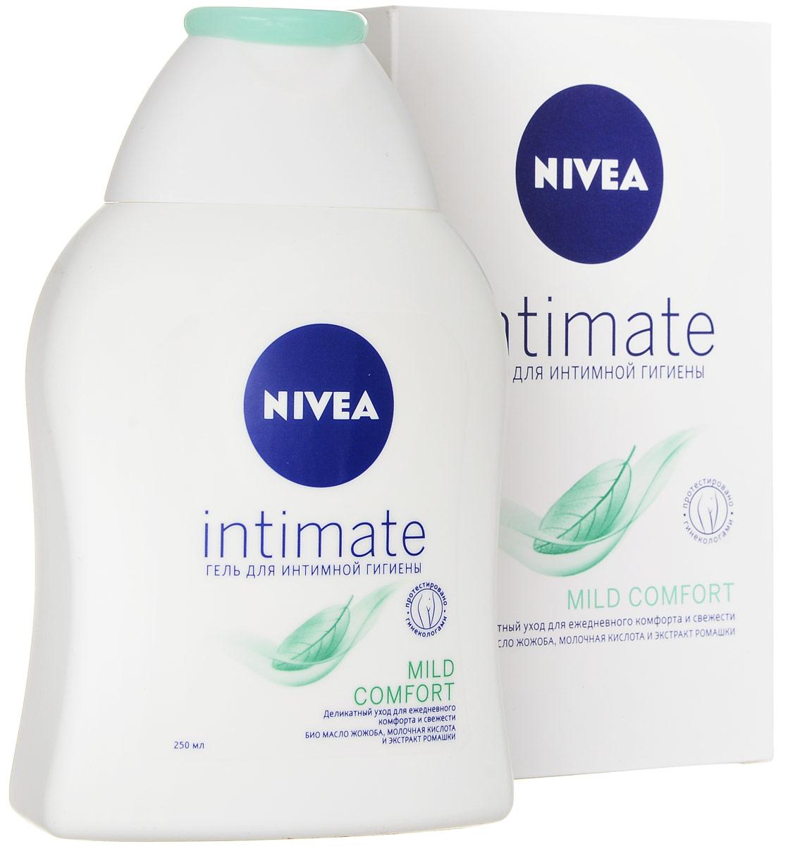 NIVEA Гель для интимной гигиены Mild Comfort, 250 мл nivea