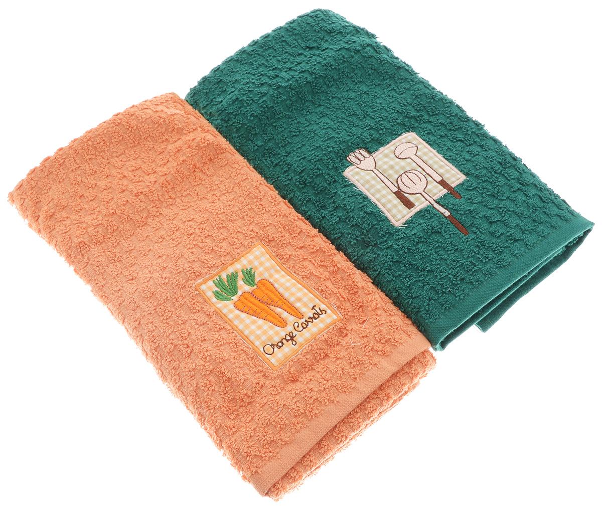 Набор кухонных полотенец Bonita Солнечный, 40 х 60 см, 2 шт20100313373морковь/ложкиНабор полотенец Bonita Солнечный, изготовленный из махры - 100% хлопка, идеально дополнит интерьер вашей кухни и создаст атмосферу уюта и комфорта. В набор входят два полотенца, которые оформлены вышивкой. Изделия выполнены из натурального материала, поэтому являются экологически чистыми. Высочайшее качество материала гарантирует безопасность не только взрослых, но и самых маленьких членов семьи. Современный декоративный текстиль для дома должен быть экологически чистым продуктом и отличаться ярким и современным дизайном. Кухня, столовая, гостиная - то место в доме, где хочется собраться всем вместе, ощутить радость и уют. И немалая доля этого уюта зависит от подобранных под вашу мебель, и что уж говорить, под ваше настроение - полотенец, скатертей, салфеток и прочих милых мелочей. Bonita предлагает коллекции готовых стилистических решений для различной кухонной мебели, множество видов, рисунков и цветов. Вам легко будет...