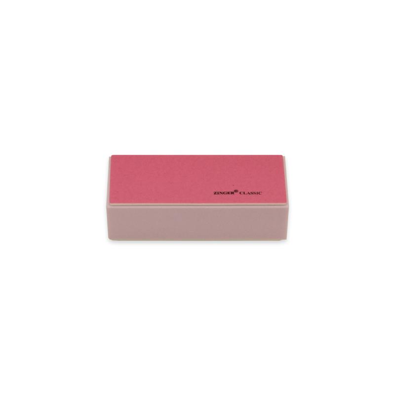 Zinger Полировочный блок zo-BA-210, 240\3000 грит17262Блок для полировки ногтей обеспечивает профессиональную полировку поверхности ногтей. Позволяет создать идеальную форму ногтя и придает зеркальный блеск.