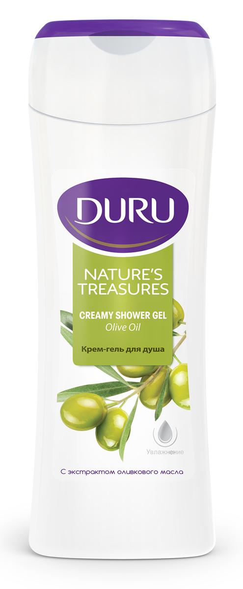 Duru Natures Treasures Гель для душа Олива 250мл8003206002Благодаря уникальному сочетанию увлажняющих масел с оливковым маслом, крем-гель для душа обеспечивает ощущение свежести и бережную заботу.