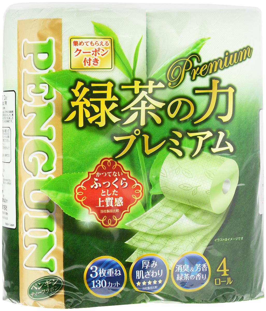 Бумага туалетная Marutomi Зеленый чай. Премиум, трехслойная, 4 рулона4902727008276Трехслойная туалетная бумага Marutomi Зеленый чай. Премиум изготовлена из вторичного сырья (переработанной бумаги) и целлюлозы, имеет приятный запах зеленого чая. Мягкая, нежная, но в тоже время прочная, бумага не расслаивается и отрывается строго по линии перфорации. Количество рулонов: 4 шт. Длина одного рулона: 20 м.