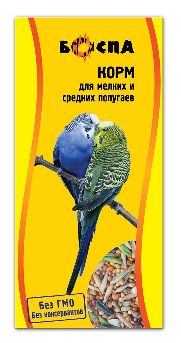 Корм для мелких и средних попугаев Боспа, 500 г0120710Полнорационный корм для домашних животных