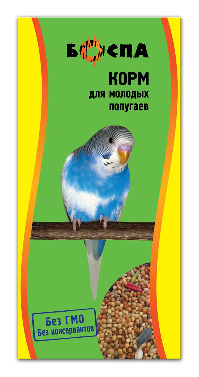 Корм для молодых попугаев Боспа, 500 гЕ136Полнорационный корм для домашних животных