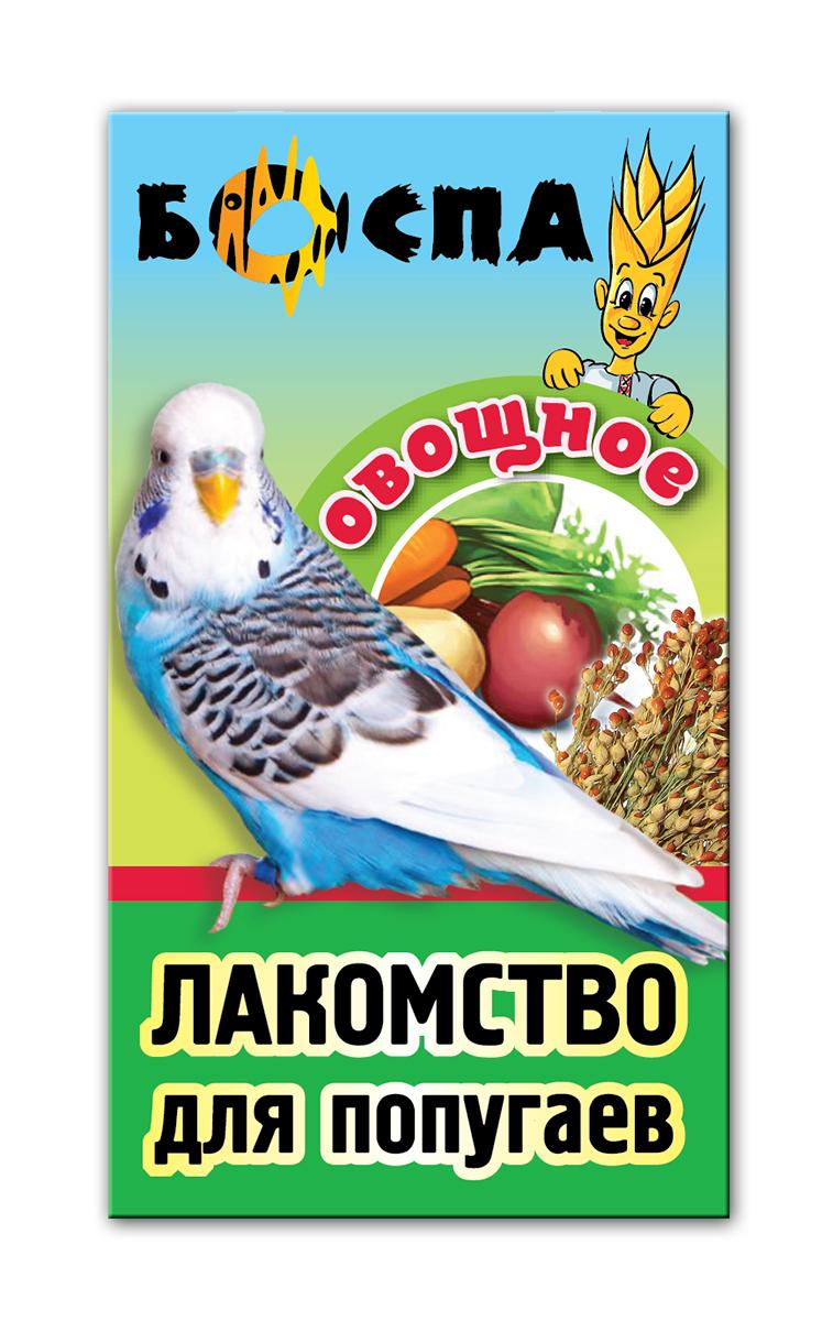 Лакомство для попугаев с овощами 3 в 1 Боспа Груша, 100 г0120710Лакомство для домашних животных, дополнение к полнорационному корму