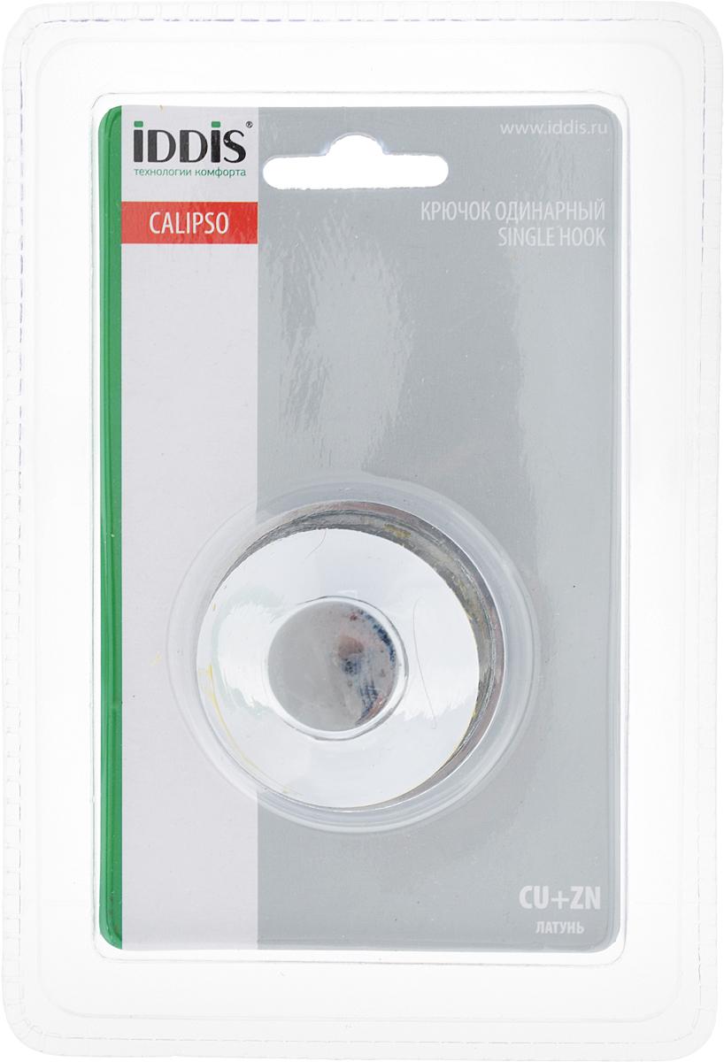 Крючок Iddis Calipso, 5 х 4,5 х 5 смCALSB10i41Крючок Iddis Calipso изготовлен из высококачественной латуни с хромированной поверхностью. Крючок крепится к поверхности при помощи саморезов (входят в комплект). Такой крючок прекрасно впишется в интерьер ванной комнаты и поможет эффективно организовать пространство.