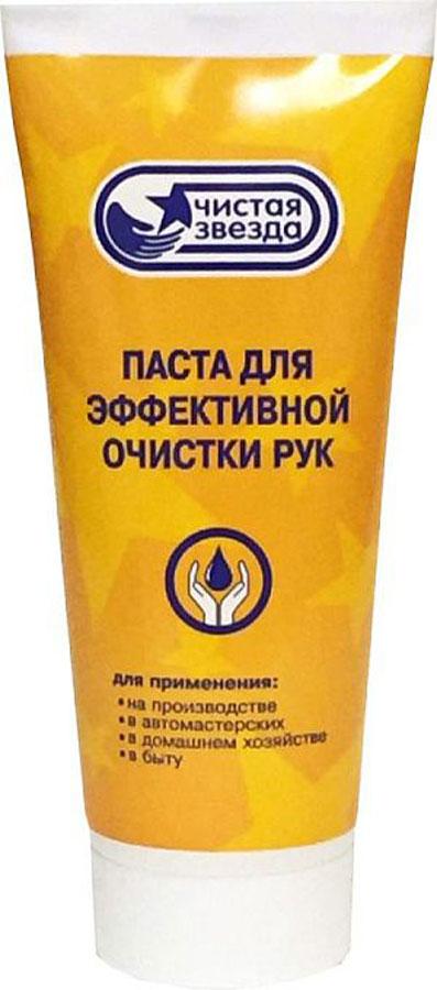 Паста для очистки рук Чистая звезда, 200 мл85080-8Нейтральное средство для эффективной очистки и удаления масла, смазок, типографической краски, графита, плиточного клея, битума, сажи, антикоррозийных материалов, производственной пыли, грязи, и других загрязнений с кожи рук. • Обладает антисептическим действием, не сушит кожу и не вызывает аллергических реакций.