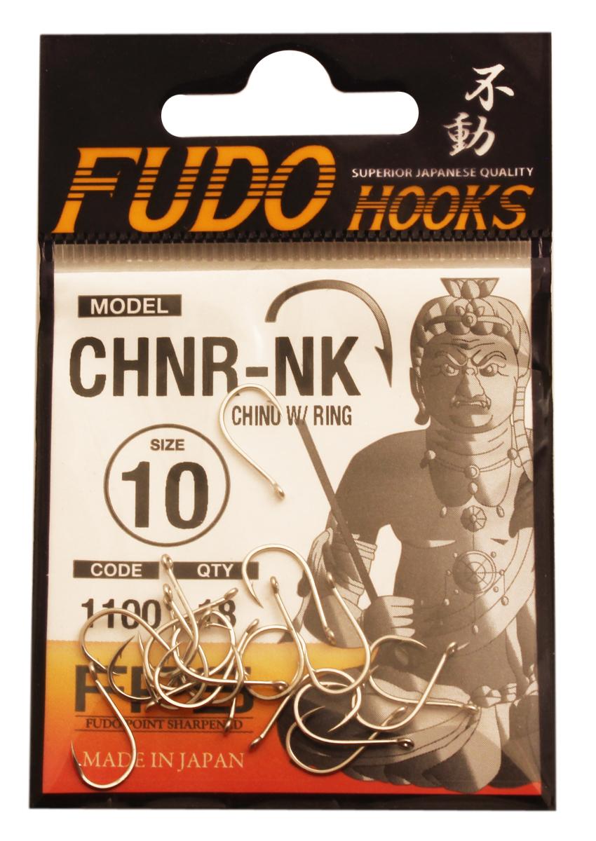 Крючок Fudo Chinu W/Ring, №10 NK (1100), 18 шт807Рыболовные крючки FUDO, производства Японии, являют собой сочетание лучших материалов , лучших технологий и наилучших человеческих навыков. Основными характеристиками крючков являются : 1 ) оптимальная форма -с точки зрения максимального улова. 2) Экстремальный заточка крюка , которая сохраняется при длительной ловле. 3) Отличная эластичность, что позволяет им противостоять деформации. 4) Общая коррозионная стойкость в процессе производства , благодаря нескольким патентам в области металлургии и производства техники. Сталь с управляемым содержания углерода -это те материалы, которые применяются в производстве крючков. Эти материалы, в виде калиброванной проволоки ,изготавливаются исключительно для инжиниринговой службы FUDO . После чего, крючок подвергается двум различным методом для заточки : механическим и химическим. Во время заточки, уровень остроты контролируется онлайн , что в итоге приводит к идеальному повторению всей серии. Прочность крючка реализуется через печи , где система компьютерной помощи регулирования температуры , позволяет достичь точности в производстве в 0,01 градуса по Цельсию, и времени обработки с точностью 0, 001 секунды. В результате крючки FUDO получаются абсолютно закаленными , что позволяет добиться отличного результата по твердости и эластичность, а также все модели крючков обладают анти коррозионным покрытием. Место крепления крюка с леской, выполненно в виде кольца. С изогнутым жалом.