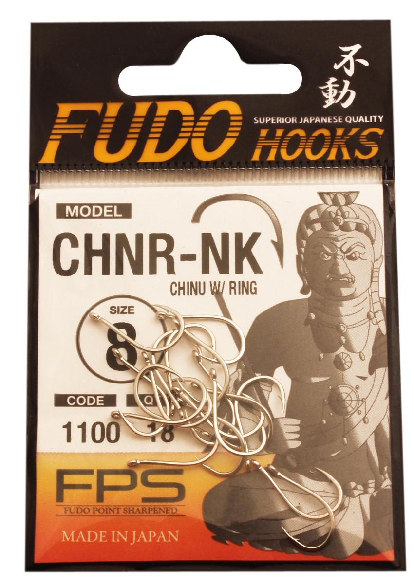Крючок Fudo Chinu W/Ring, №8 NK (1100), 18 шт807Рыболовные крючки FUDO, производства Японии, являют собой сочетание лучших материалов , лучших технологий и наилучших человеческих навыков. Основными характеристиками крючков являются : 1 ) оптимальная форма -с точки зрения максимального улова. 2) Экстремальный заточка крюка , которая сохраняется при длительной ловле. 3) Отличная эластичность, что позволяет им противостоять деформации. 4) Общая коррозионная стойкость в процессе производства , благодаря нескольким патентам в области металлургии и производства техники. Сталь с управляемым содержания углерода -это те материалы, которые применяются в производстве крючков. Эти материалы, в виде калиброванной проволоки ,изготавливаются исключительно для инжиниринговой службы FUDO . После чего, крючок подвергается двум различным методом для заточки : механическим и химическим. Во время заточки, уровень остроты контролируется онлайн , что в итоге приводит к идеальному повторению всей серии. Прочность крючка реализуется через печи , где система компьютерной помощи регулирования температуры , позволяет достичь точности в производстве в 0,01 градуса по Цельсию, и времени обработки с точностью 0, 001 секунды. В результате крючки FUDO получаются абсолютно закаленными , что позволяет добиться отличного результата по твердости и эластичность, а также все модели крючков обладают анти коррозионным покрытием. Место крепления крюка с леской, выполненно в виде кольца. С изогнутым жалом.