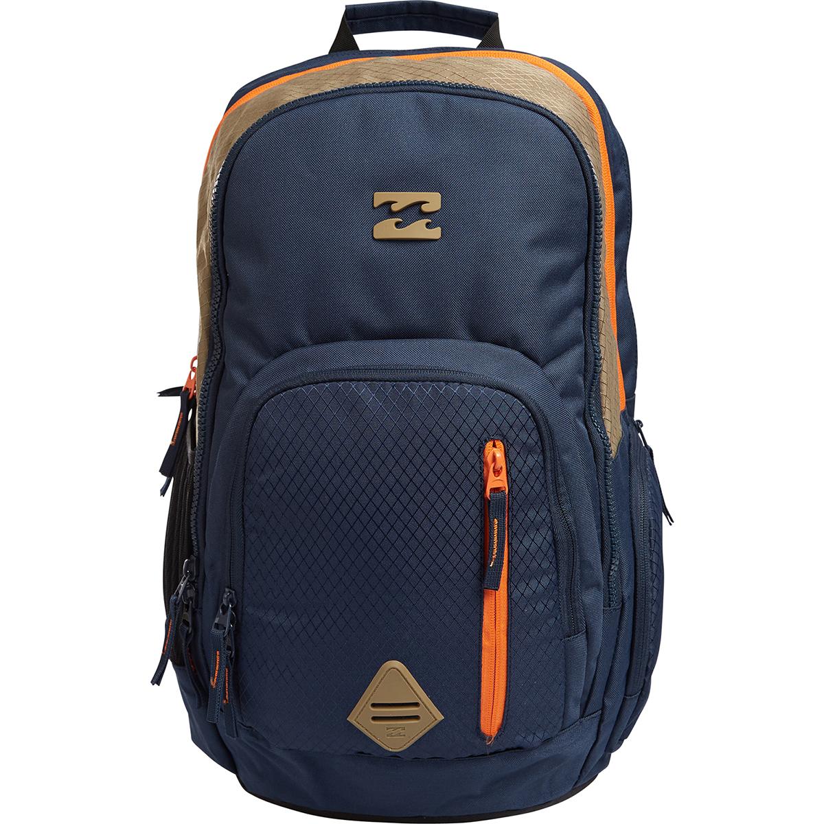 Рюкзак городской мужской Billabong Command, цвет: индиго, 35 л. Z5BP05Z5BP05Практичный рюкзак, выполненный из износостойких материалов, готовый служить Вам долгое время, сохраняя презентабельный внешний вид. Множество отделений делаю его очень вместительным и позволяют раскладывать вещи так, как Вам удобно. Мягкие вставки на задней панели и эргономичные плечевые лямки