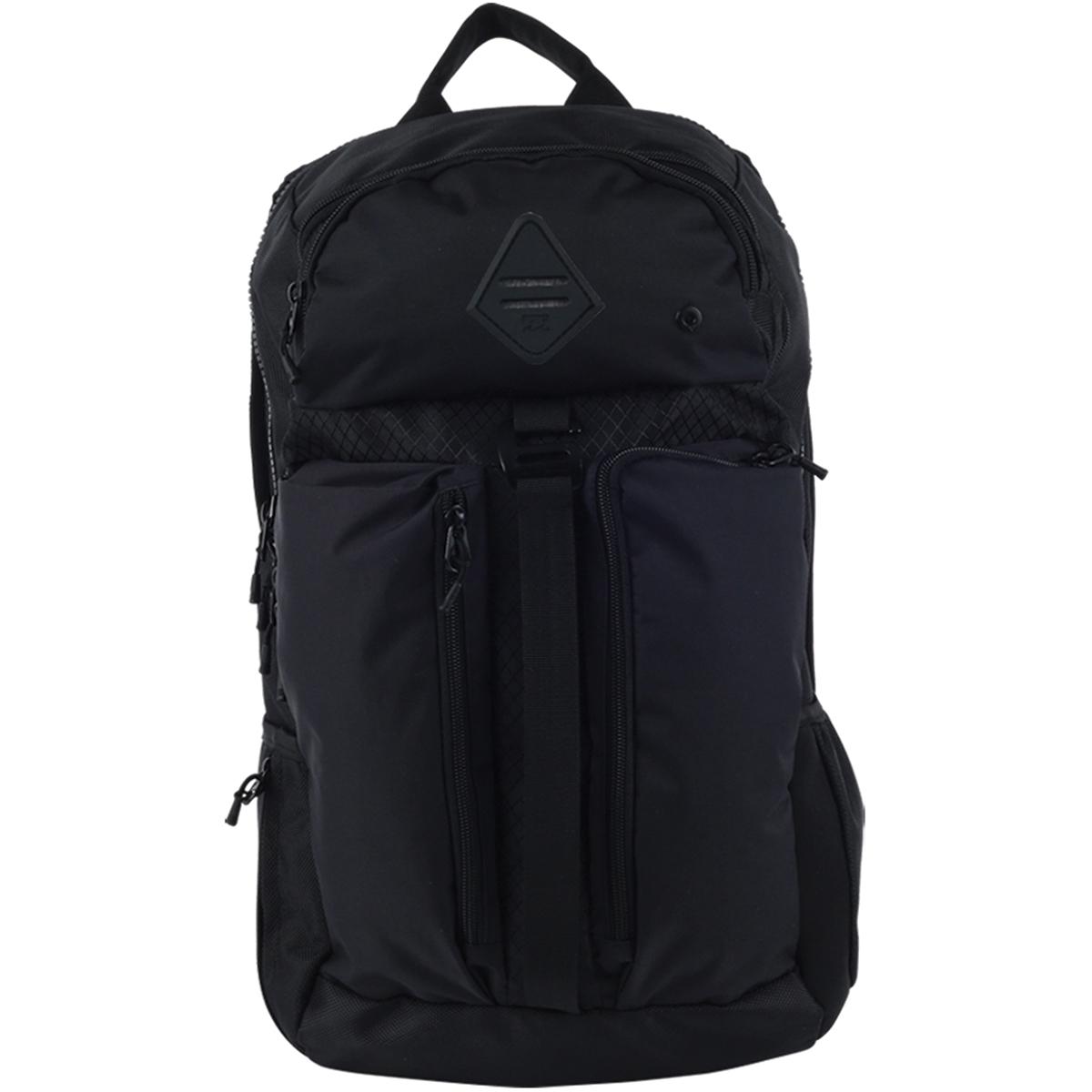 Рюкзак городской мужской Billabong Vector Pack, цвет: ярко-черный, 30 л. Z5BP09Z5BP09Многофункциональный рюкзак с большим кол-вом карманов, вместительное главное отделение, карман под ноутбук.
