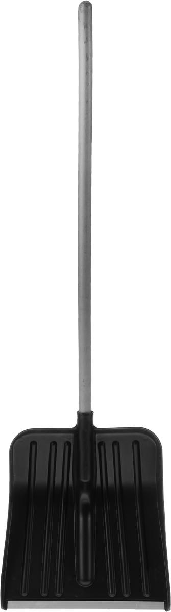 Лопата для снега Ingreen Snow Spade, с черенком, цвет: черный, серый, длина 129,5 смПЦ3602ЧРЛопата Ingreen Snow Spade предназначена для чистки дорожек и уборки любых видов снега: свежевыпавшего рыхлого снега, насыщенного влагой снега и больших сугробов. Выполнена из высококачественного, морозостойкого материала. Лопата снабжена алюминиевой кромкой и гладким деревянным черенком. Длина лопаты: 129,5 см. Размер рабочей части: 40 х 34,5 см.