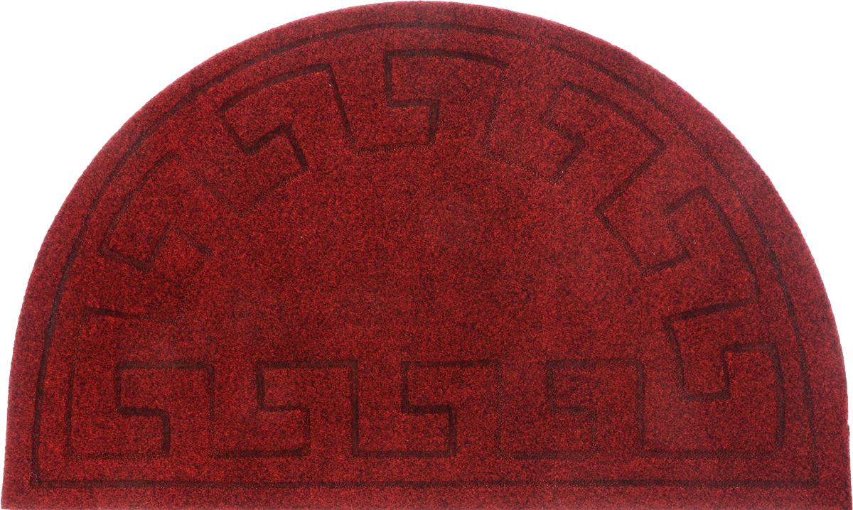 Коврик придверный EFCO Оскар. Геометрический узор, цвет красный, 65 х 40 см10984_красныйОригинальный придверный коврик EFCO Оскар. Ромбы надежно защитит помещение от уличной пыли и грязи. Изделие выполнено из 100% полипропилена, основа - латекс. Такой коврик сохранит привлекательный внешний вид на долгое время, а благодаря латексной основе, он легко чистится и моется.