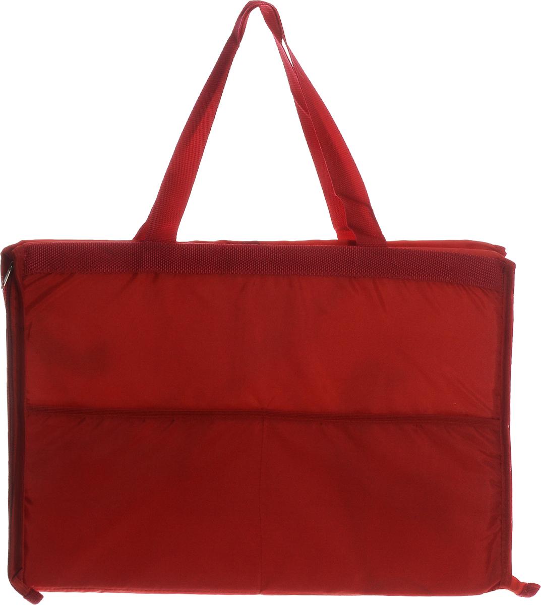 Сумка-коврик для пикника Eva Роза, 52 х 38 смК37_красныйСумка-коврик Eva изготовлена из хлопка, полиэстера, наполнитель - пенополиэтилен. Вместительная сумка на молнии одним движение превращается в удобный пляжный коврик для загорания. Для отдыха на пляже или пикника будет полезной такая вещь, как сумка-коврик. Изделие сделает ваш отдых комфортным и приятным. Размер сумки-коврика (в сложенном виде): 52 х 38 см. Размер сумки-коврика (в развернутом виде): 145 х 52 см.