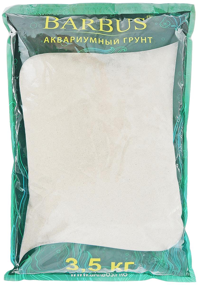 Грунт для аквариума Barbus Карибы, натуральный, кварцевый песок, 0,4-1 мм, 3,5 кг0120710Натуральный грунт Barbus Карибы предназначен специально для оформления аквариумов. Изделие готово к применению. Грунт Barbus Карибы порадует начинающих любителей природы и самых придирчивых дизайнеров, стремящихся к созданию нового, оригинального. Такая декорация придется по вкусу обитателям аквариумов, которые ещё больше приблизятся к природной среде обитания. Предназначен для аквариумов на 20 л.Фракция: 0,4 - 1 мм мм.Вес: 3,5 кг.