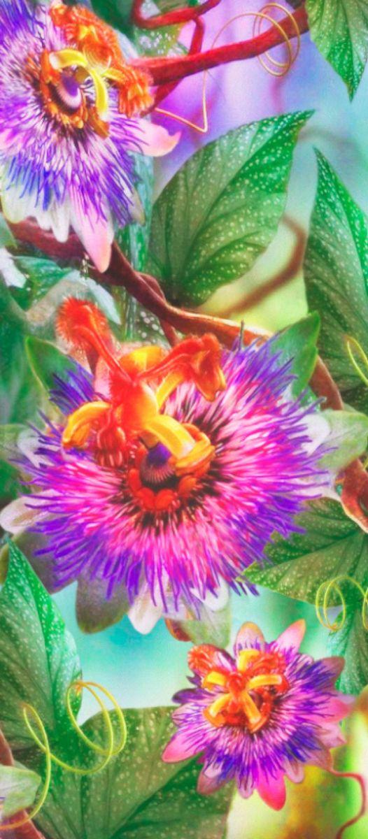 Панно декоративное Твоя Планета Сказочные цветы, 105 х 238 см4607161054925