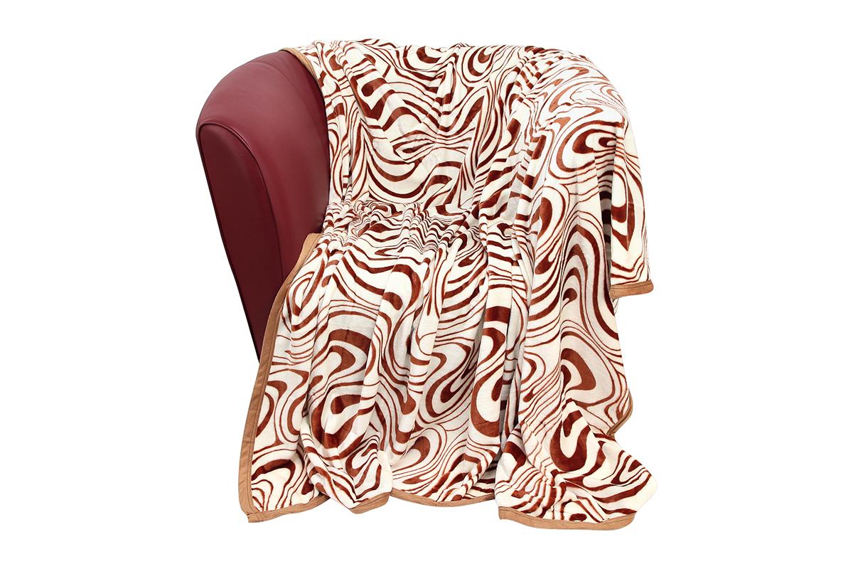 Плед EL Casa Зебра, цвет: белый, оранжевый, 200 х 230 см6113MУютный, легкий и прочный плед в оригинальном дизайне послужит украшением декора вашей комнаты и согреет вас и ваших близких.Устойчив к истиранию и скатыванию, не мнется, не деформируется, сохранит первоначальный вид даже при активном использовании и многочисленных стирках. Такой плед идеален в качестве подарка на любой праздник. Изделие в подарочной сумке с ручками.Плотность - 320 г/м2.