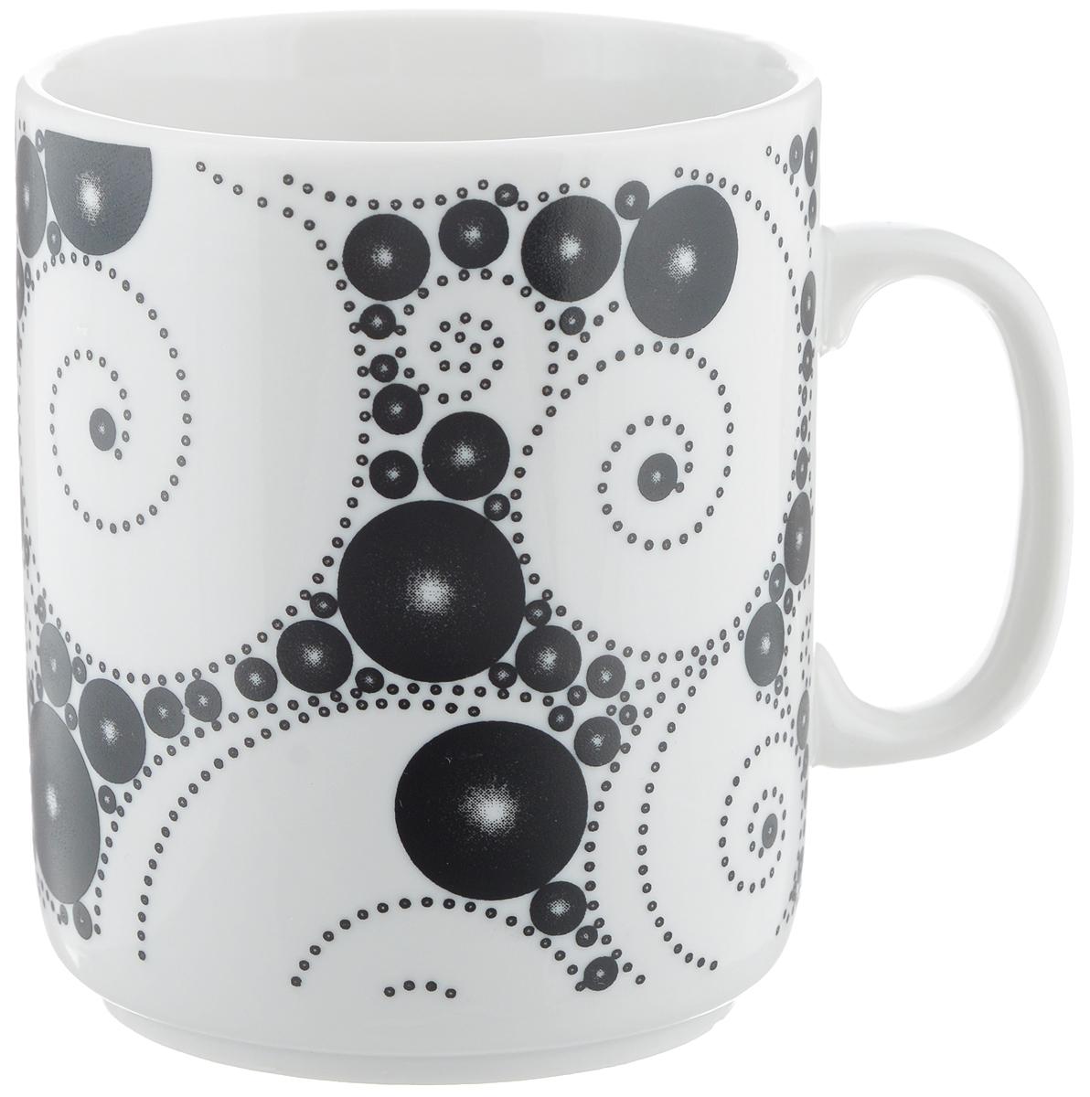 Кружка Фарфор Вербилок Жемчужный, 300 мл9461640Кружка Фарфор Вербилок Жемчужный способна скрасить любое чаепитие. Изделие выполнено из высококачественного фарфора. Посуда из такого материала позволяет сохранить истинный вкус напитка, а также помогает ему дольше оставаться теплым. Диаметр по верхнему краю: 7,5 см. Высота кружки: 10 см.