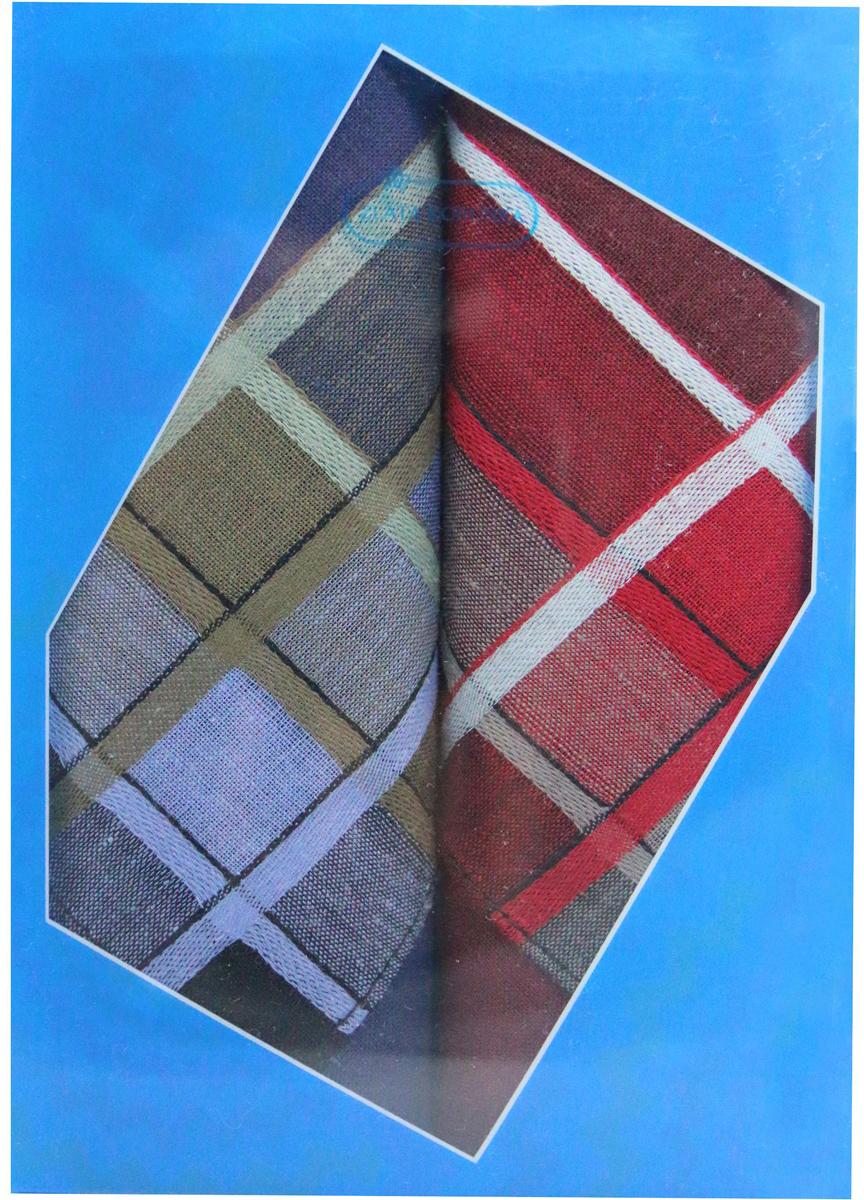 Платок носовой мужской Zlata Korunka, цвет: красный, темно-синий, 2 шт. 40213-10. Размер 38 см х 38 смСерьги с подвескамиОригинальный мужской носовой платок Zlata Korunka изготовлен из высококачественного натурального хлопка, благодаря чему приятен в использовании, хорошо стирается, не садится и отлично впитывает влагу. Практичный и изящный носовой платок будет незаменим в повседневной жизни любого современного человека. Такой платок послужит стильным аксессуаром и подчеркнет ваше превосходное чувство вкуса.В комплекте 2 платка.