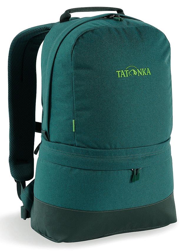 Рюкзак городской Tatonka Hiker Bag, цвет: темно-зеленый, 21л1607.190Легкий городской рюкзак на каждый день. Анатомические лямки и два отделения делают его незаменимым для передвижения в городе.