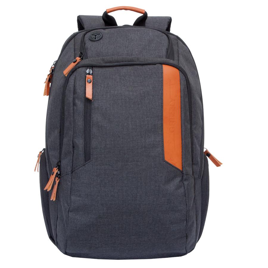 Рюкзак молодежный мужской Grizzly, цвет: черный, 26 л. RU-700-6/3Z90 blackРюкзак молодежный, два отделения, карман на молнии на передней стенке, боковые стяжки-фиксаторы, объемные боковые карманы на молнии, внутренний карман на молнии, внутренний карман-пенал для карандашей, внутренний укрепленный карман для ноутбука, укрепленная спинка, карман для аудиоплеера, дополнительная ручка-петля, нагрудная стяжка-фиксатор, укрепленные лямки, брелок для ключей