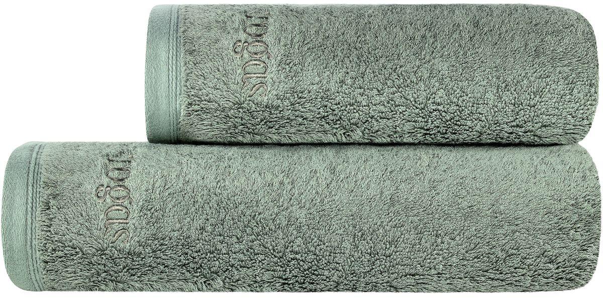 Полотенце банное Togas Пуатье, цвет: темно-зеленый, 70 х 140 см68/5/2ПУАТЬЕ темно-зеленый Полотенце, 70х140, 1 предмет, модал/хлопок, плотность 650 гр/м2.