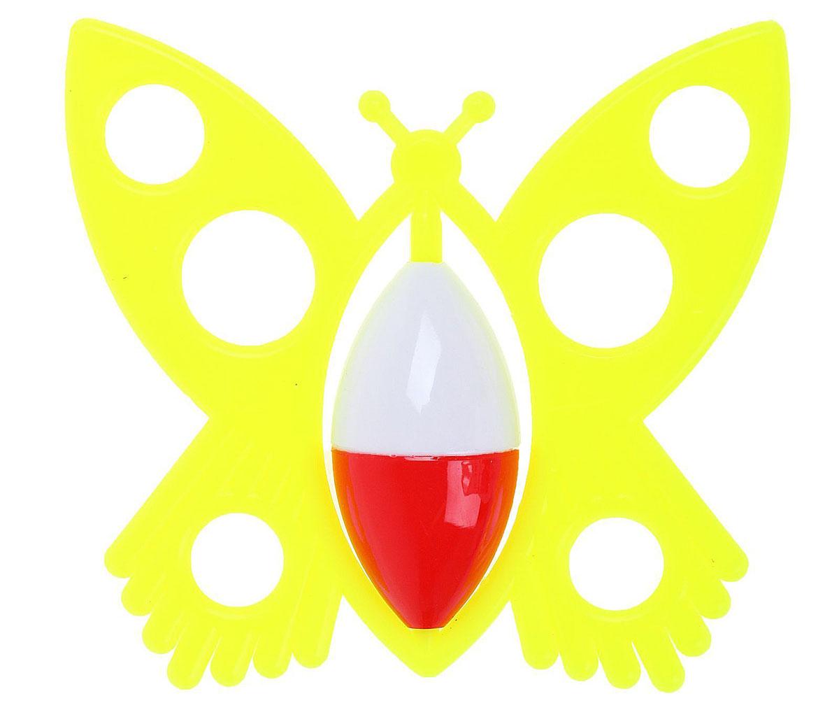Аэлита Погремушка Бабочка цвет лимонный