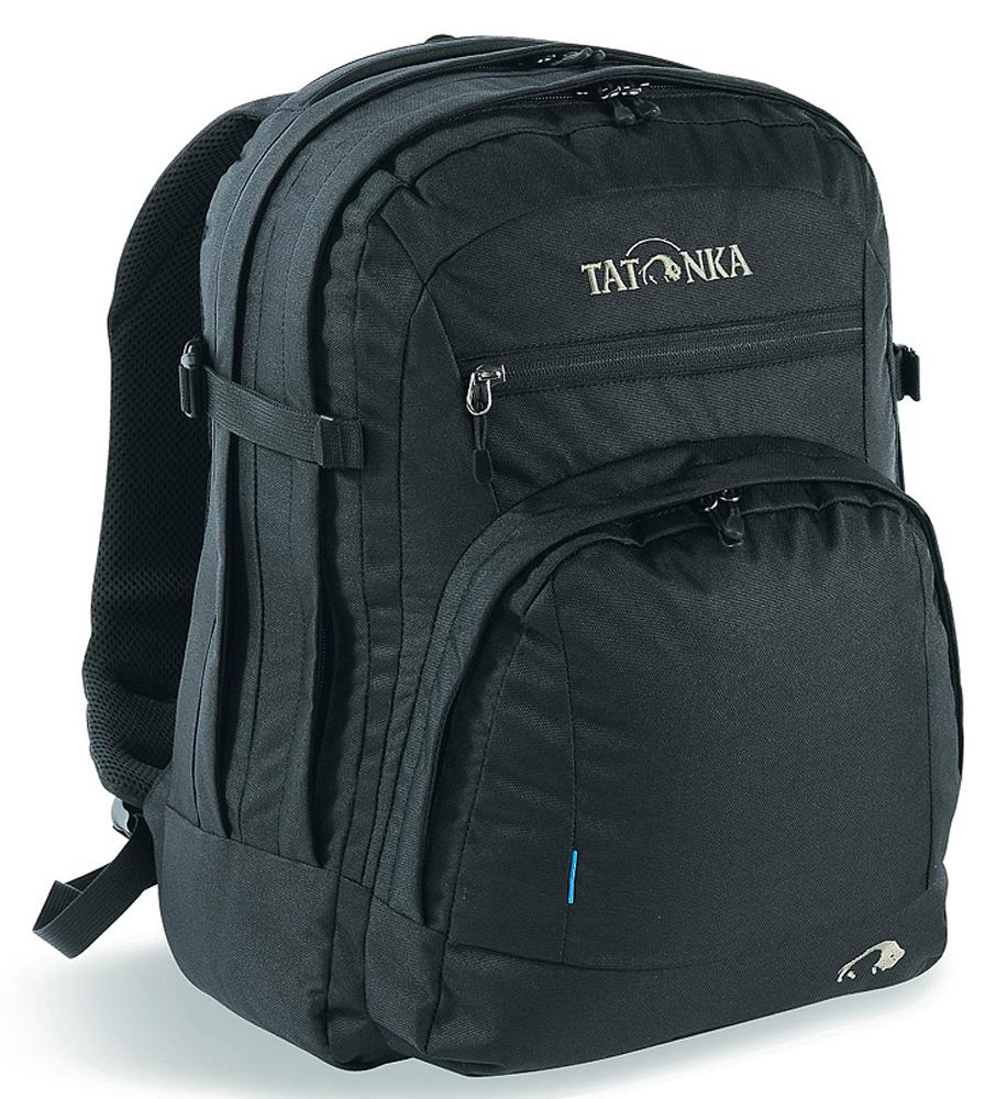 Городской офисный рюкзак Tatonka Marvin, цвет: черный, 13л1691.040Городской рюкзак с отделением для документов и ноутбука 15,4 дюйма.