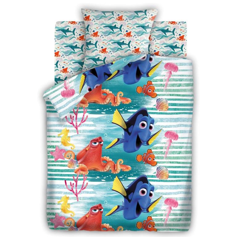 Комплект детского постельного белья В поисках Дори Дори, цвет: синий (8773/8774 вид 1)352321