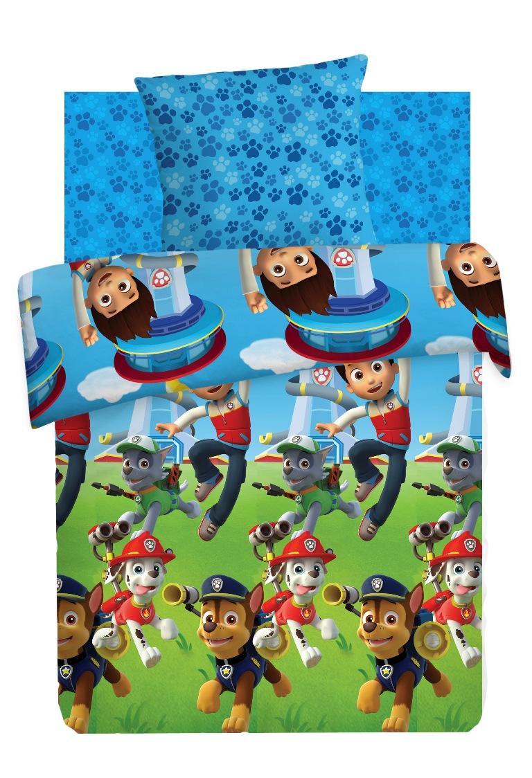 Комплект детского постельного белья Щенячий патруль Райдер и щенки, цвет: синий (8785/8786 вид 1)361810