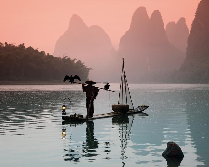 Картина Postermarket Китайский рыбак, 40 х 50 см. AG 40-39AG 40-39