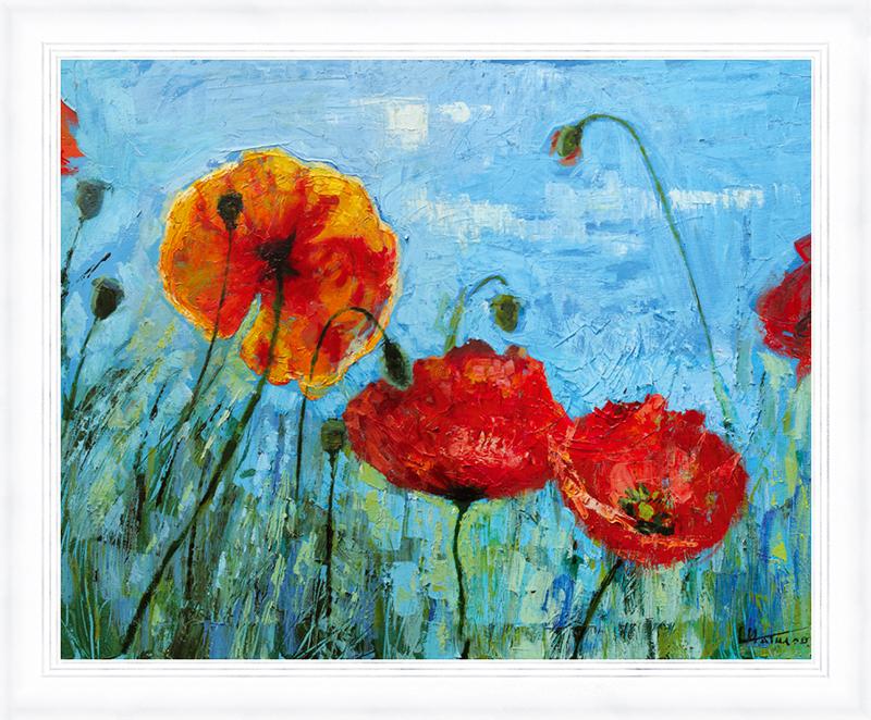 Картина Postermarket Красные маки, 24 х 30 см. PM-2403PM-2403