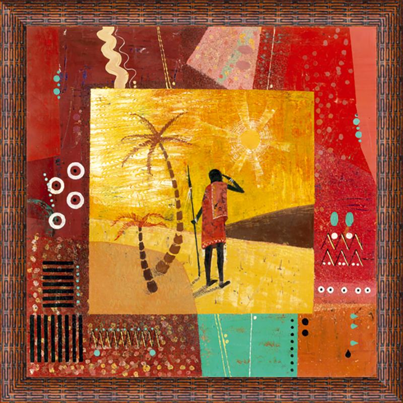 Картина Postermarket Африка II, 30 х 30 смU210DFКартина Postermarket Африка II прекрасно подойдет для декора интерьера различных помещений. Постер, выполненный в технике фотопечать, оформлен багетом коричневого цвета. Картина для интерьера (постер) - это современное и актуальное направление в дизайне помещений. Ее можно использовать для оформления любых помещений (дом, квартира, офис, бар, кафе, ресторан или гостиница). работоспособность. Правильное оформление интерьера создает благоприятный психологический климат, улучшает настроение и мотивирует.Размер картины: 300 x 300 мм.