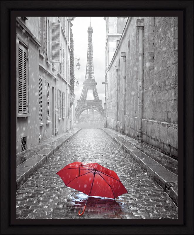 Картина Postermarket Дождь в Париже, 40 х 50 смES-412Картина Postermarket Дождь в Париже прекрасно подойдет для декора интерьера различных помещений. Постер, выполненный в технике фотопечать, оформлен багетом черного цвета. Картина для интерьера (постер) - это современное и актуальное направление в дизайне помещений. Ее можно использовать для оформления любых помещений (дом, квартира, офис, бар, кафе, ресторан или гостиница). работоспособность. Правильное оформление интерьера создает благоприятный психологический климат, улучшает настроение и мотивирует.Размер картины: 400 x 500 мм.
