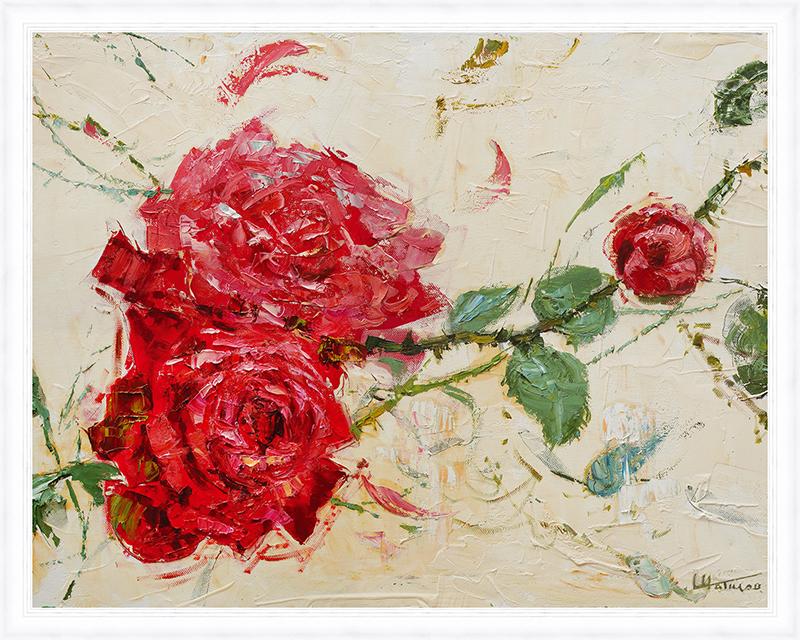 Картина Postermarket Дикие розы, 40 х 50 см. PM-4031PM-4031Картина Postermarket Дикие розы прекрасно подойдет для декора интерьера различных помещений. Постер, выполненный в технике фотопечать, оформлен багетом белого цвета. Картина для интерьера (постер) - это современное и актуальное направление в дизайне помещений. Ее можно использовать для оформления любых помещений (дом, квартира, офис, бар, кафе, ресторан или гостиница). работоспособность. Правильное оформление интерьера создает благоприятный психологический климат, улучшает настроение и мотивирует. Размер картины: 400 x 500 мм.