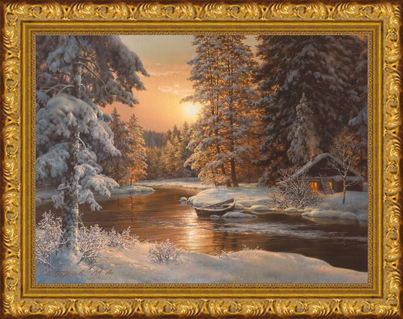 Картина Postermarket В зимнем лесу, 30 х 40 см. SA-3002SA-3002