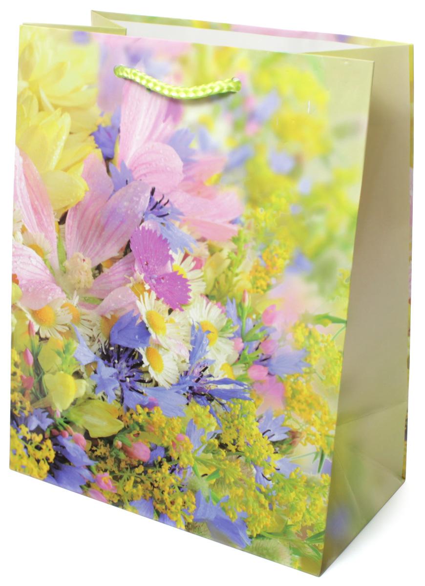 Пакет подарочный МегаМАГ Цветы, 18 х 22,7 х 10 см. 2139 M2139 MПодарочный пакет МегаМАГ, изготовленный из плотной ламинированной бумаги, станет незаменимым дополнением к выбранному подарку. Для удобной переноски на пакете имеются две ручки-шнурки. Подарок, преподнесенный в оригинальной упаковке, всегда будет самым эффектным и запоминающимся. Окружите близких людей вниманием и заботой, вручив презент в нарядном, праздничном оформлении.