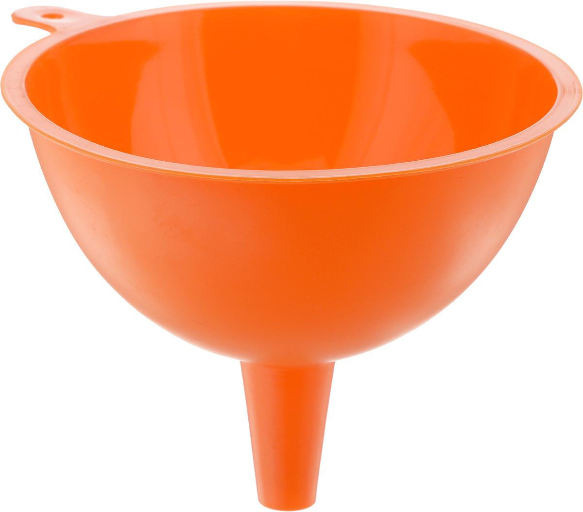 Воронка Mayer & Boch, цвет: оранжевый, диаметр 15 см24620_оранжевыйВоронка Mayer & Boch изготовлена из силикона. Предназначена для переливания жидкостей в сосуд с узким горлышком. Воронка плотно прилегает к краям наполняемой емкости, поэтому вы ни капли не прольете мимо. Такая воронка станет прекрасным дополнением к коллекции ваших кухонных аксессуаров. Диаметр воронки: 15 см. Высота воронки: 12 см.